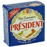 Queso Camembert President Lat 125 Grm