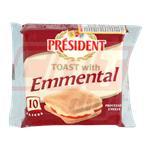 Queso Feteado PRESIDENT Sandwich Paq 200 Grm