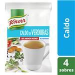 Caldo Granulado KNORR Verduras Bajo En Sodio Sobre 22.5 Gr