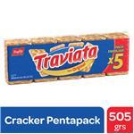 Galletitas 5 Pack Traviata Paq 505 Grm