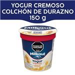 Yogur Entero MILKAUT Duraznos Colchón Frutas 150 Gr