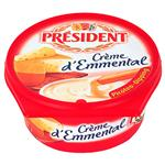 Queso Sabor Emmental PRESIDENT Pot 125 Grm
