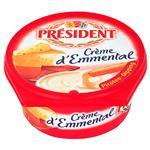 Queso Sabor Emmental President Pot 125 Grm