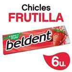 Chicles BELDENT Frutilla Bli 10 Grm