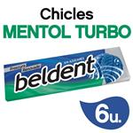 Chicles BELDENT Mentol Turbo Bli 10 Grm