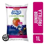 Leche Entera JUNIOR Frutilla Sachet 1 L