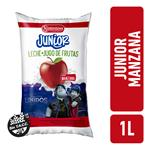 Leche Entera JUNIOR Manzana Sachet 1 L