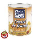 Coctel De Frutas CIUDAD DEL LAGO Lata 820 Gr