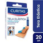 Apositos CURITAS Tela Elastica Cja 20 Uni