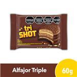 Alfajor SHOT Chocolate 60 Gr X 1 Uni