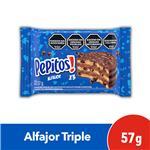 Alfajor Pepitos Chocolate 57 Gr X 1 Uni
