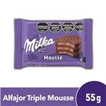Alfajor Milka Mousse 55 Gr X 1 Uni
