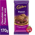 Chocolate Leche Con Mani CADBURY Tab 170 Grm