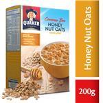 Honey Nut Oats Aritos De Ave/ Quaker Est 200 Grm