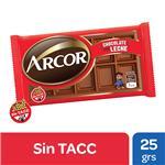 Chocolate ARCOR Con Leche Tab 25 Grm