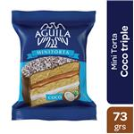 Alfajor Aguila Mini Torta Coco Paq 73 Grm