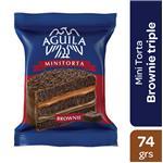 Alfajor AGUILA Brownie Paq 74 Gr