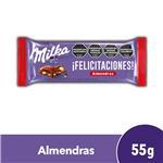 Chocolate MILKA Joy C/Almendras Paq 70 Grm
