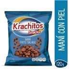 Mani Salado Krach-Itos Frito Paq 120 Grm