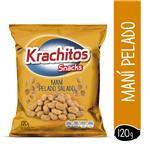 Mani Salado Krach-Itos Pelado Paq 120 Grm