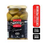 Aceitunas Verdes NUCETE Premium Frasco 360 Gr