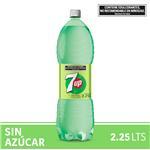 Gaseosa SEVEN UP Sin Azúcar   Botella 2.25 L