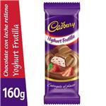 Chocolate CADBURY Yoghurt De Frutilla Paq 160 Grm