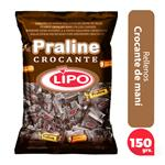 Caramelos Lipo Rellenos Crocante Bol 150 Grm
