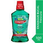 Enjuague Bucal Colgate Plax Fresh Mint 500ml Promo Lleve 500ml Pague 350ml