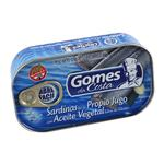 Sardina E/Aceite Gomes Da Co Lat 125 Grm