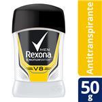 Desodorante Antitraspirante REXONA MEN V8 Barra 50 Gr