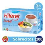 Edulcorante HILERET Sweet Caja Sobres X 200