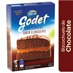 Polvo Para Bizcochuelo GODET Chocolate Caja 480 Gr