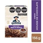 Barra Cereal Mousse De Choc Quaker Cja 156 Grm