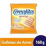 Galletitas Cerealitas Tostadas Arroz 160 Gr