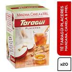 Té Manzana, Canela Y Sabor Miel TARAGUI     Caja 20 Saquitos