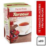 Té Frutos Rojos TARAGUI Placeres Caja 20 Saquitos