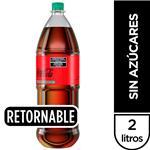 Gaseosa Coca-Cola Sin Azúcares 2 Lt