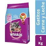 Alimento Cachorros WHISKAS 1 Kg Carne Y Leche