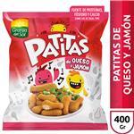 Patitas Pollo De Queso Y Jam Granja Del Bsa 400 Grm