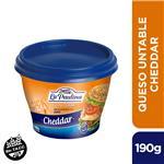 Queso Untable LA PAULINA Cheddar 190 Gr
