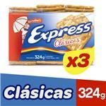 Gall.Crackers Agua Express Paq 324 Grm