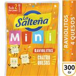 Raviolitos 4 Quesos LA SALTEÑA Bli 300 Grm