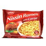 Sopa Nissin Ramen Carne Paq 85 Grm