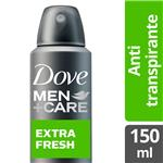 Desodorante Antitraspirante DOVE MEN  Extra Fresh  Aerosol 150 Cc