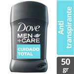 Desodorante Antitraspirante DOVE MEN Cuidado Total Barra 50 Gr