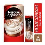 Capuccino Instantáneo Nescafé Cappuccino 6 Sobres X 20g