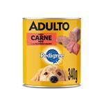 Alimento Para Perro Pedigree Sabor Carne Lat 340 Grm