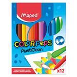 Crayones Maped 12 Unidades