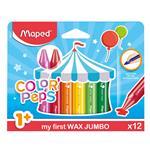 Crayones MAPED Color Peps Maxi 12 Unidades